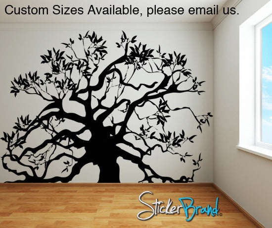 Family Tree Vinyl Wall Decal Sticker Ac126