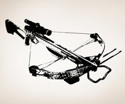 Vinyl Wall Decal Sticker Crossbow #OS_AA520