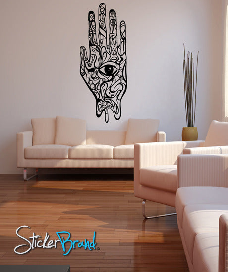 Vinyl Wall Decal Sticker Hand-eye #MConde103