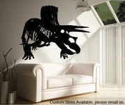 Vinyl Wall Decal Sticker Dino Triceratop #MMartin149
