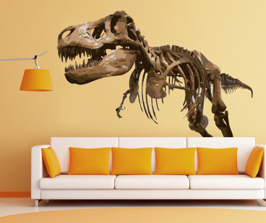 Graphic Vinyl Wall Decal Sticker Dinosaur TRex MMartin - Custom vinyl wall decals dinosaur