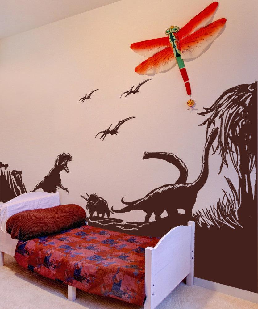 Vinyl Wall Decal Sticker Dinosaur World Gfoster170