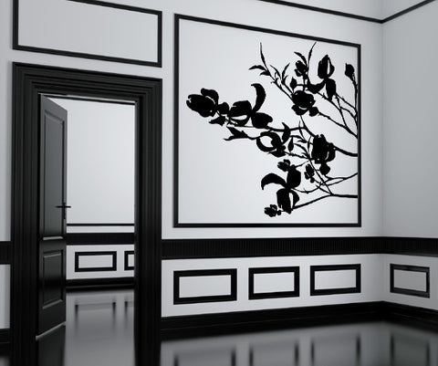 Vinyl Wall Decal Sticker Dogwood Blossoms #AC151