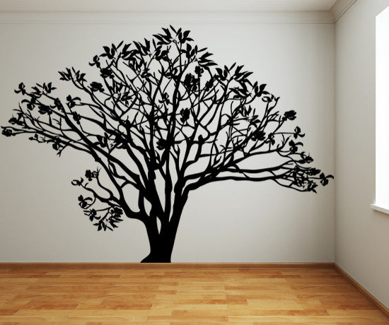 Vinyl Wall Decal Sticker Dogwood Tree #AC152