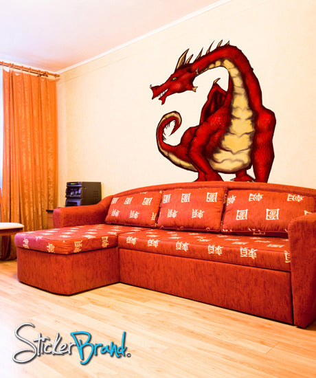 Dragon Wall Decals Dragon Decal Stickers Stickerbrand