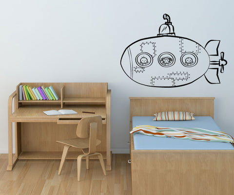 Vinyl Wall Decal Sticker Doodle Sub #OS_MG161