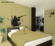 Vinyl Wall Decal Sticker Duck Hunter #GFoster173