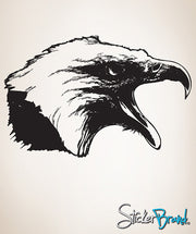 Vinyl Wall Decal Sticker Screaming Eagle #795