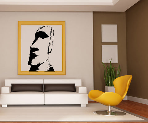 Vinyl Wall Decal Sticker Easter Island Statue #AC207