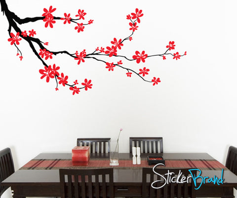 Vinyl Wall Decal Sticker Flower Branch Blossom #840