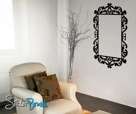 Vinyl Wall Decal Sticker Frame  #KTudor111