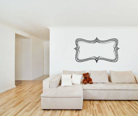 Vinyl Wall Decal Sticker Frame #OS_MG177