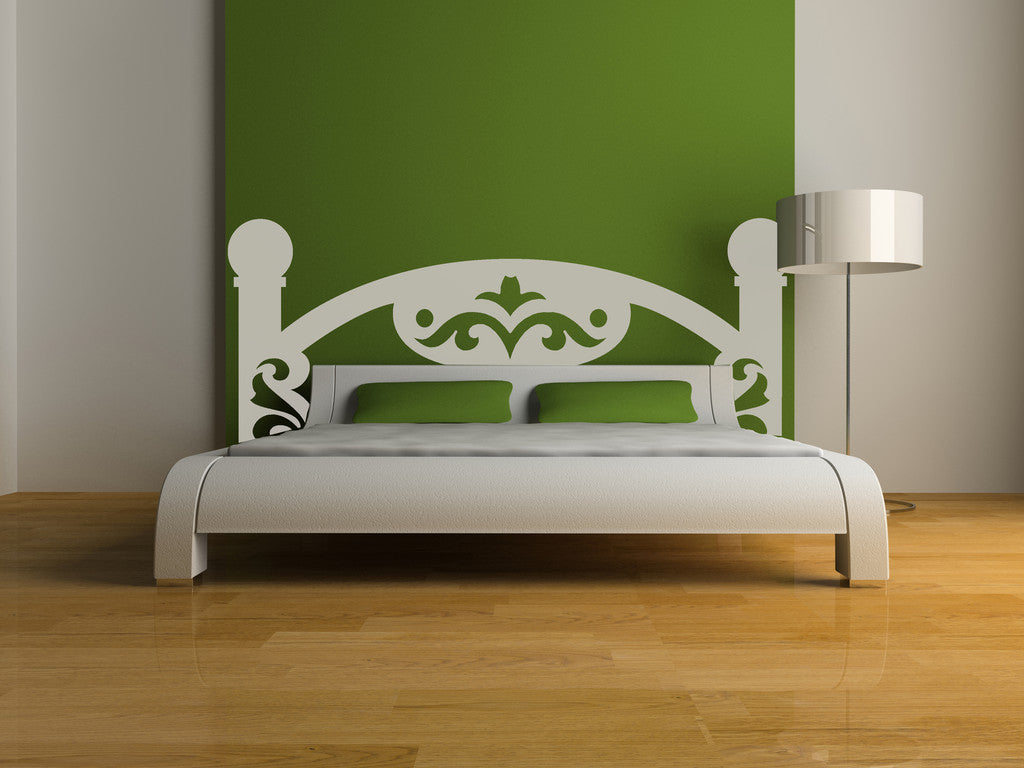 Vinyl Wall Decal Sticker Bed Frame #OS_MG180