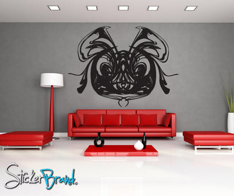 Vinyl Wall Decal Sticker Funky Mouse Blob Abstract  #AC132