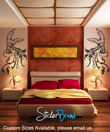 Vinyl Wall Decal Sticker Bird Handler Set #GFoster121