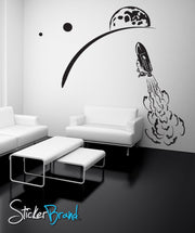 Vinyl Wall Decal Sticker Shuttle Launch #GFoster127