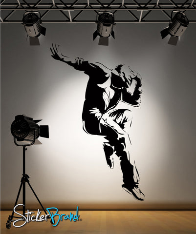Vinyl Wall Decal Sticker HipHop Dancer #AC174