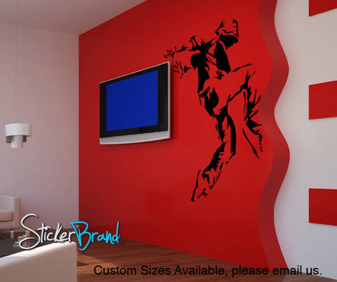 Vinyl Wall Sticker Decal Hip Hop Dancer #AC119
