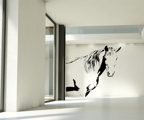 Horse Stallion Wall Decal. #AC175