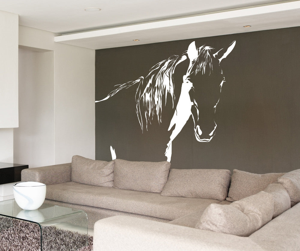 Vinyl wall decal sticker horse ac175 for Horse wall decals