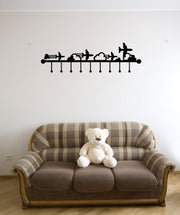 Vinyl Wall Decal Sticker Jet Hanger #OS_MG166