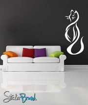 Vinyl Wall Decal Sticker Classy Cat #KRiley105