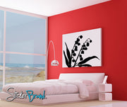 Vinyl Wall Decal Sticker Lily of the Valley Flower #AC145