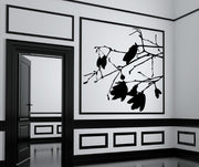 Vinyl Wall Decal Sticker Magnolia Flowers #AC157
