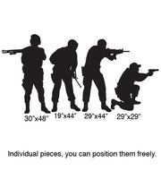 Vinyl Wall Decal Sticker Military Swat Team Army Men #210