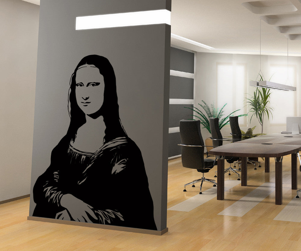 Vinyl Wall Decal Sticker Mona Lisa #AC216
