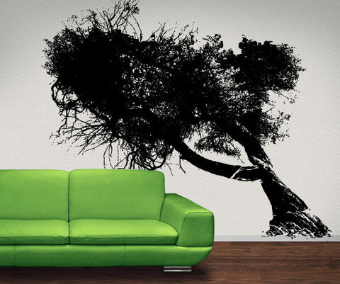 Vinyl Wall Decal Sticker Old Tree #MMartin137
