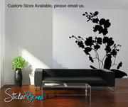 Vinyl Wall Decal Sticker Orchid Flowers #AC146