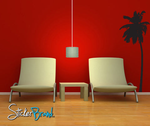 Vinyl Wall Decal Sticker Tropical Palm Tree #803