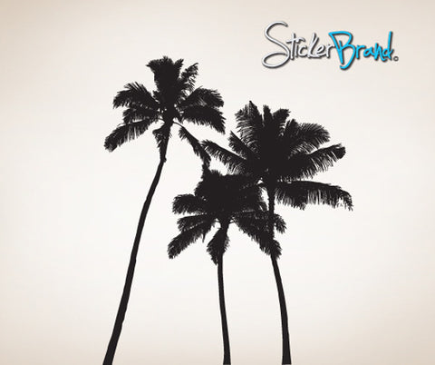 Vinyl Wall Decal Sticker Tropical Palm Trees #801