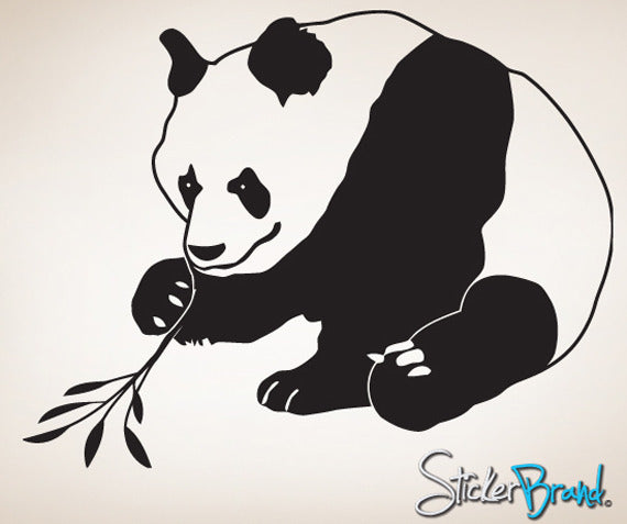Vinyl Wall Decal Asian Panda #771
