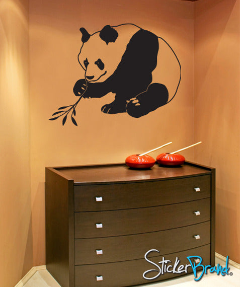 Vinyl Wall Decal Asian Panda - Vinyl wall decals asian