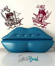 Vinyl Wall Decal Sticker Pirate Kids #GFoster138