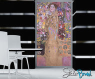 Graphic Wall Decal Sticker Portrait of Ria By Klimt #GWray116