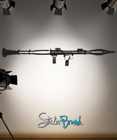 Vinyl Wall Decal Sticker RPG Weapon Abstract B&W #JH189
