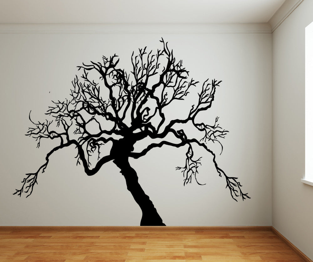 Vinyl Wall Decal Sticker Scary Tree Ac221