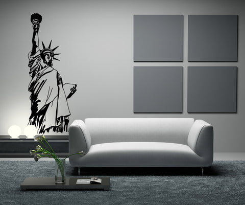 NYC Statue of Liberty Vinyl Wall Decal Sticker. #OS_MB522