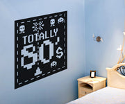Vinyl Wall Decal Sticker Totally 80's #OS_AA450