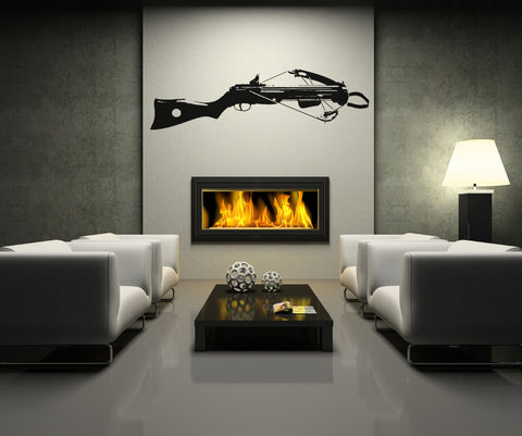 Vinyl Wall Decal Sticker Crossbow Side View #OS_AA528