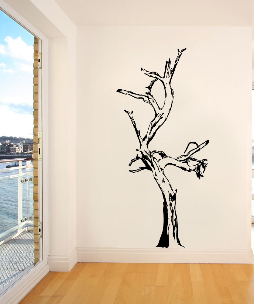 Vinyl Wall Decal Sticker Driftwood Tree #AC205