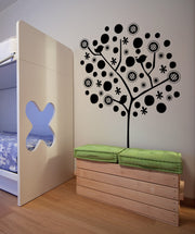 Vinyl Wall Decal Sticker Polka Dot Tree #OS_MG388