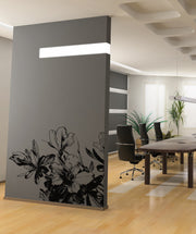 Vinyl Wall Decal Sticker Blooming Flowers #OS_AA264