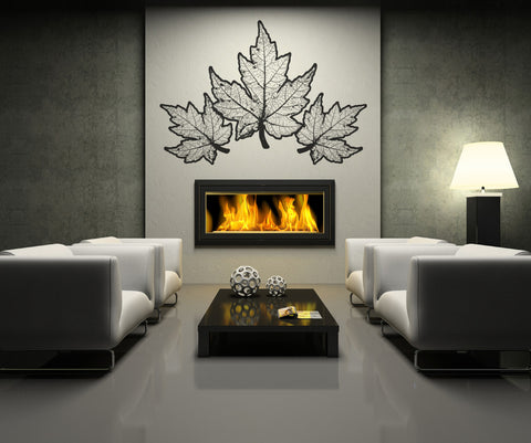 Vinyl Wall Decal Sticker Autumn Leaves #OS_AA320
