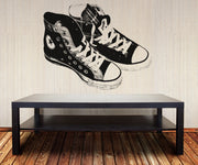 Vinyl Wall Decal Sticker Pair of Converse Sneakers #OS_AA168