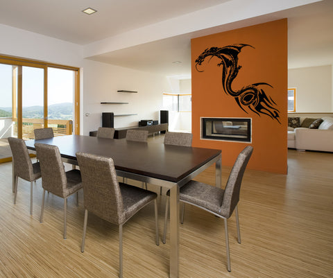 Vinyl Wall Decal Sticker Serpent Dragon #OS_AA534