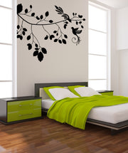 Vinyl Wall Decal Sticker Birds' Perch #1003